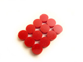 "Fingerboard Dot Position Markers 1/4"" diameter Red"