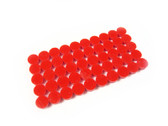 "Fingerboard Dot Position Markers 1/4"" dia. Red 50pack"