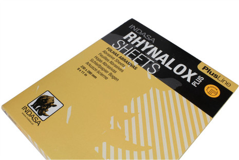 Indasa Rhynalox Dry Sandpaper