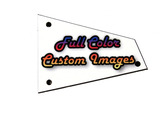 Custom Personalized Truss Rod Cover w/ your picture or logo for Ibanez RG Barless w/ access guitars