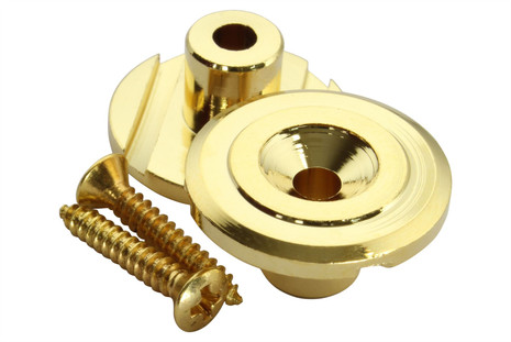 Bass Guitar string retainer - Gold