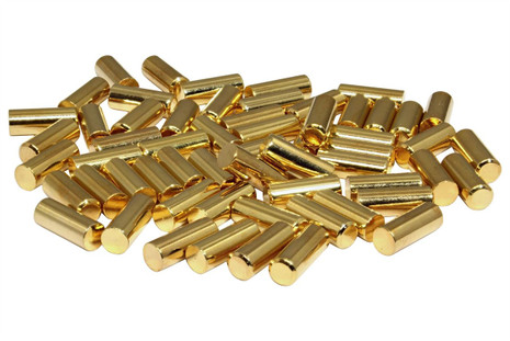 1215 Pole Slugs w/ Chamfered End - Gold