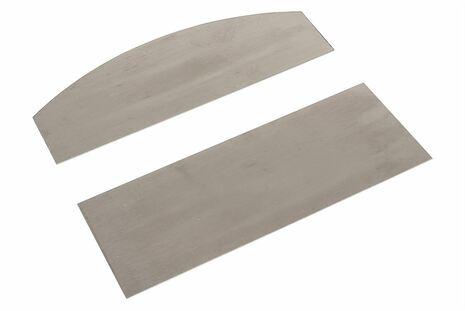 Curved and Straight Card Scraper set - Medium size