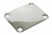 Chrome neck plate