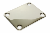 Thick Nickel neck plate.
