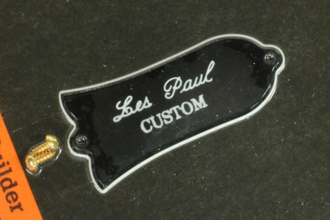 Gibson Les Paul CUSTOM truss rod cover in package