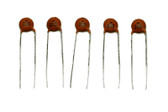 Ceramic Disc Capacitors .02mfd 50v
