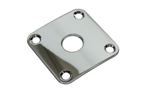 Curved Square Metal Jackplate - Chrome