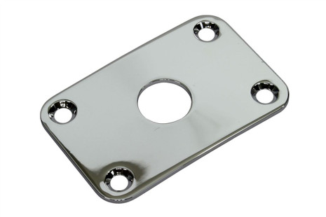 Metal Rectangular Jackplate - Chrome