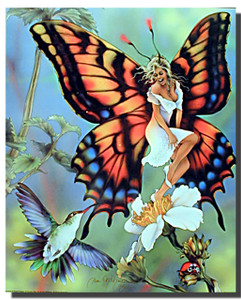 Butterfly Fairy and Bird Posters