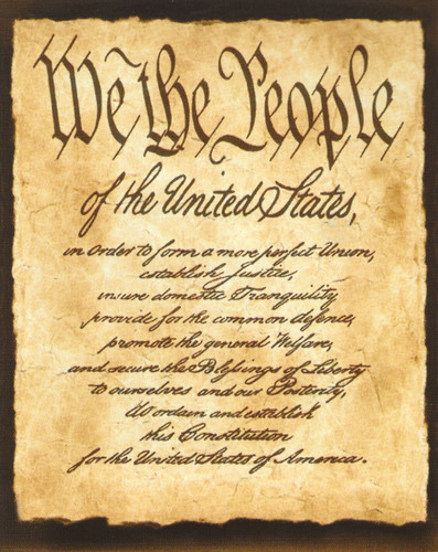 Constitution of the United States \