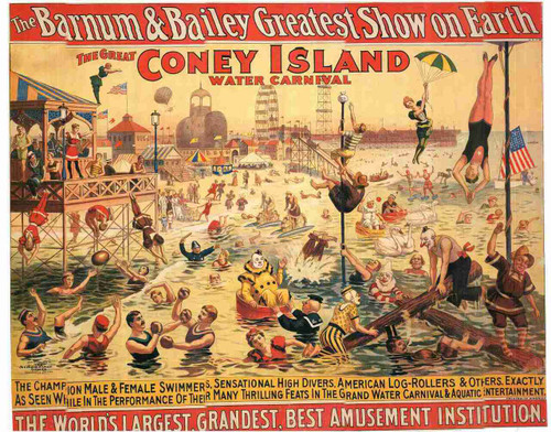 The Great Coney Island Water carnival\
