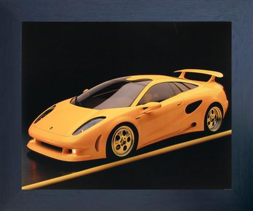 Yellow Lamborghini Cala-Italian Design Sports Car Wall Decor ...