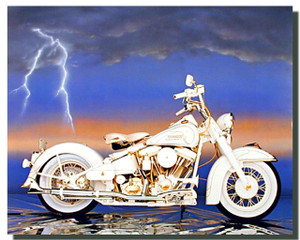 50th Anniversary Harley Sturgis Motorcycle Posters