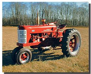 Farmall M 400 Tractor Poster