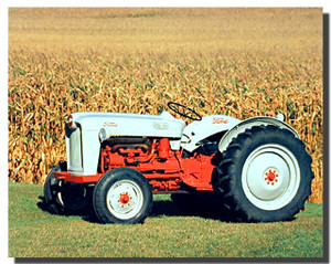 Ford Naa Golden Jubilee Tractor Poster
