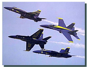 Blue Angels Jets Poster