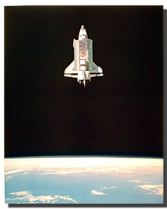 Shuttle in Space Posters
