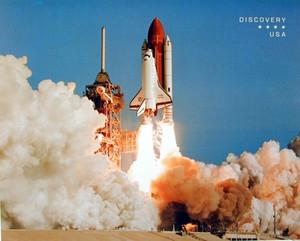 NASA Space Shuttle Blasting Off NASA Wall Decor Art Print Poster (16x20)