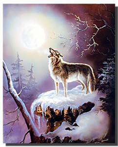 Wolf Poster- Warrior's Song