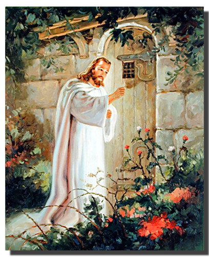 Christ at the Door Poster | Religious Posters | Spiritual Posters