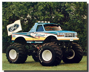 Bigfoot 1993 Ford Racing Car Posters