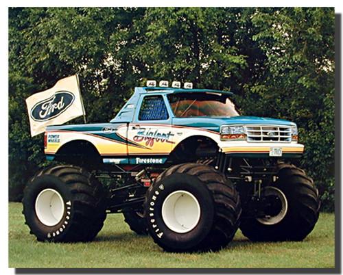 Bigfoot 1993 Ford Racing Car Posters
