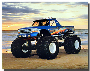 Bigfoot Monster Truck Posters