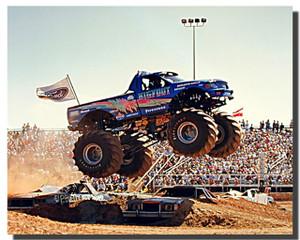 Bigfoot Truck Monster Car Posters