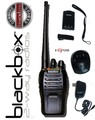 Great for Professional use! Use the Blackbox Bantam Radios anywhere, like the track, camping, boating, Surveillance, Casinos, Law Enforcement, Restaurants, Nightclubs, Hotels, Retail Store, Racing, Tactical units / teams, Security & Guards.