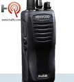 The Kenwood TK-2402VK portable radio offers 16 channels, high power output, and an advanced lithium battery. This is a relatively small and lightweight business radio, yet is extremely durable (built to IP54/55 and military 810 C, D, E, and F standards), making it a great choice for a wide array of environments, from light duty operations, to the toughest construction jobs.