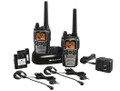 MIDLAND GXT860VP4 42-Channel GMRS Radio Pair Pack with Drop-in Charger, Rechargeable Batteries & Headsets