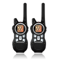 Pair of MR350-R Talkabout 2-way Radios designed for the outgoing, camper, hunter, family, group... and more to use.