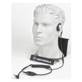 Motorola RMN5114 Lightweight headset allows users to hear both radio audio and their surrounding environment. Two temple receivers convert audio into sound vibration and transmit into the inner ear without covering the ear.