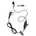 VAPOR SINGLE-WIRE SURVEILLANCE KIT - Single-Wire Earpiece with comfortable earbud speaker