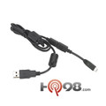 USB Programming Cable - This cable attaches the Motorola CLP Two-Way Radio to a PC via USB for radio programming. Part #HKKN4025