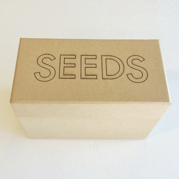 Also makes a great gift when filled with organic seeds!