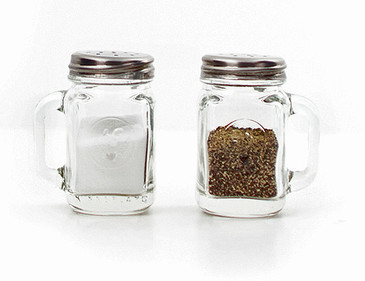 Mason Salt & Pepper