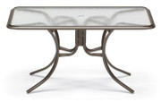 "Telescope Casual 32""x56"" Rectangular Acrylic Dining Table"