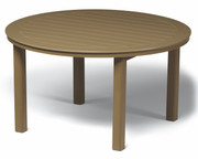 "Telescope Casual 54"" Round Marine Grade Polymer Dining Table"