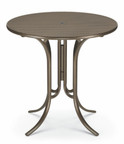 "Telescope Casual 42"" Round Perforated Bar Height Table"