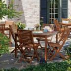 """Oxford Garden Capri 42"""" Square Table"""