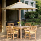 "Oxford Garden Hampton 45"" x 40"" Dining Table"
