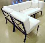 Three Coins Moderno Sectional Straight Chair