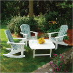 Adirondack Shell Back Conversation Set