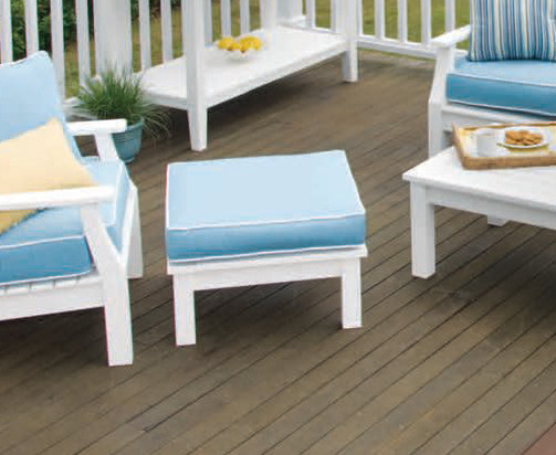 Seaside Casual Nantucket Deep Seating Ottoman