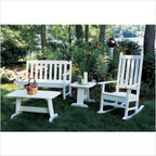 Newport Bench Conversation Set