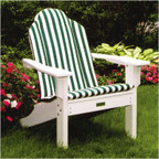 Seaside Casual Shellback Adirondack Chair Cushion