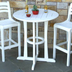 """Seaside Casual Westport 36"""" Bar Table - EnviroWood"""