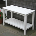 Seaside Casual Windsor Outdoor Buffett Table Large - EnviroWood